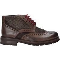 Boty Muži Kotníkové boty Exton 63 Hnědý