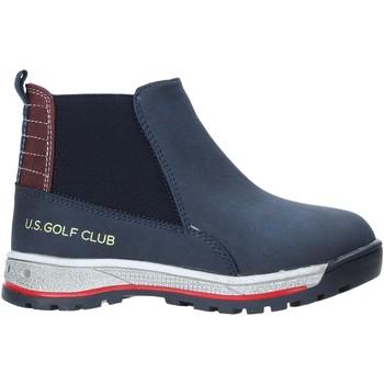 Boty Děti Kotníkové boty U.s. Golf W19-SUK525 Modrý