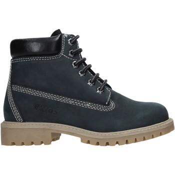 Boty Děti Kotníkové boty Valleverde 36803 Modrý
