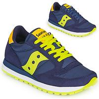 Boty Nízké tenisky Saucony JAZZ ORIGINAL Modrá / Žlutá
