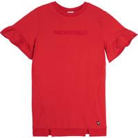 Textil Dívčí Krátké šaty Carrément Beau Y12234-992 Červená