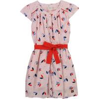 Textil Dívčí Krátké šaty Carrément Beau Y12246-44L Růžová