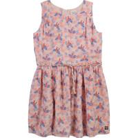 Textil Dívčí Krátké šaty Carrément Beau Y12247-44L Růžová