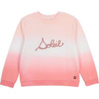 Textil Dívčí Mikiny Carrément Beau Y15373-N44 Bílá / Růžová