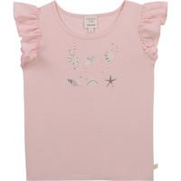 Textil Dívčí Trička s krátkým rukávem Carrément Beau Y15378-44L Růžová