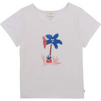 Textil Dívčí Trička s krátkým rukávem Carrément Beau Y15383-10B Bílá