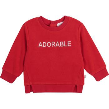 Textil Dívčí Mikiny Carrément Beau Y95256-992 Červená