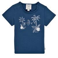 Textil Chlapecké Trička s krátkým rukávem Carrément Beau Y95274-827 Tmavě modrá