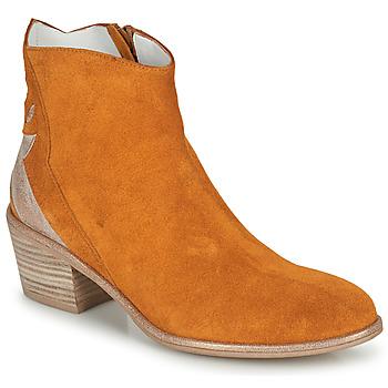 Boty Ženy Kotníkové boty Regard NEUILLY Hnědá