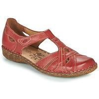 Boty Ženy Sandály Josef Seibel ROSALIE 29 Červená