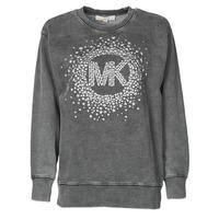 Textil Ženy Mikiny MICHAEL Michael Kors ACID WSH MK STAR STUD Černá