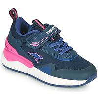 Boty Dívčí Nízké tenisky Kangaroos KD-GYM EV Modrá / Růžová