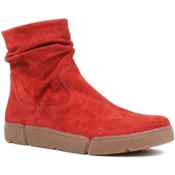Boty Ženy Kotníkové boty Ara Om St High Soft Red