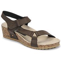 Boty Ženy Sandály Spot on F10716 Hnědá
