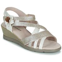 Boty Ženy Sandály Damart 61170 Stříbrná