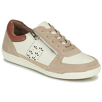 Boty Ženy Nízké tenisky Damart 68010 Bílá