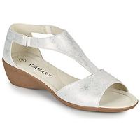 Boty Ženy Sandály Damart 49019 Stříbrná