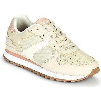 Boty Ženy Nízké tenisky Esprit AMBRO Béžová / Růžová