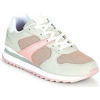 Boty Ženy Nízké tenisky Esprit AMBRO Zelená / Růžová