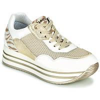 Boty Ženy Nízké tenisky IgI&CO ALMINTA Bílá / Zlatá