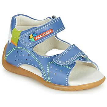 Boty Chlapecké Sandály Pablosky KINNI Modrá