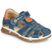 Boty Chlapecké Sandály Pablosky REAL Tmavě modrá