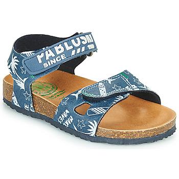 Boty Chlapecké Sandály Pablosky FOUNIR Modrá