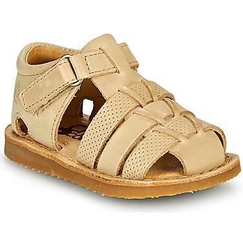 Boty Chlapecké Sandály Citrouille et Compagnie MISTIGRI Béžová
