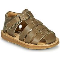 Boty Chlapecké Sandály Citrouille et Compagnie MISTIGRI Khaki