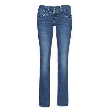 Textil Ženy Rifle rovné Pepe jeans GEN Modrá