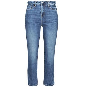 Textil Ženy Rifle slim Pepe jeans DION 7/8 Modrá