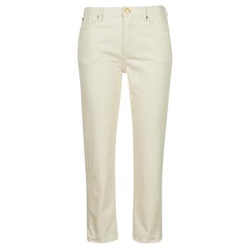 Textil Ženy Rifle slim Pepe jeans DION 7/8 Krémově bílá