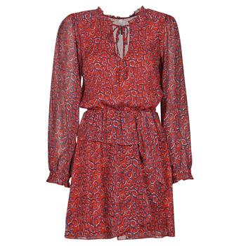 Textil Ženy Krátké šaty Pepe jeans LULIS Červená / Modrá