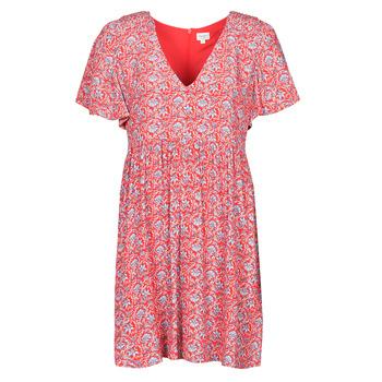 Textil Ženy Krátké šaty Pepe jeans CAROLINA Červená / Modrá