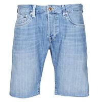 Textil Muži Kraťasy / Bermudy Pepe jeans STANLEU SHORT BRIT Modrá / Světlá