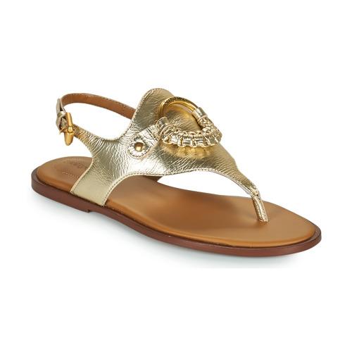 Boty Ženy Sandály See by Chloé HANA SB36131 Zlatá