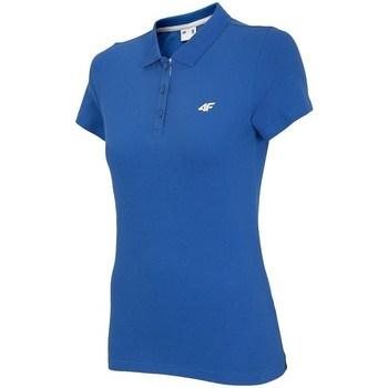 Textil Ženy Polo s krátkými rukávy 4F TSD007 Modré