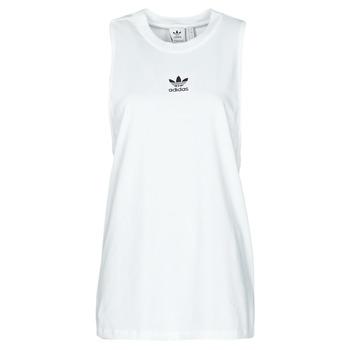 Textil Ženy Tílka / Trička bez rukávů  adidas Originals TANK Bílá
