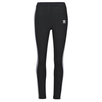 Textil Ženy Legíny adidas Originals 3 STR TIGHT Černá