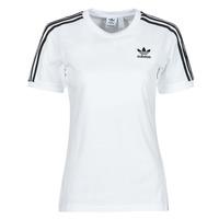 Textil Ženy Trička s krátkým rukávem adidas Originals 3 STRIPES TEE Bílá