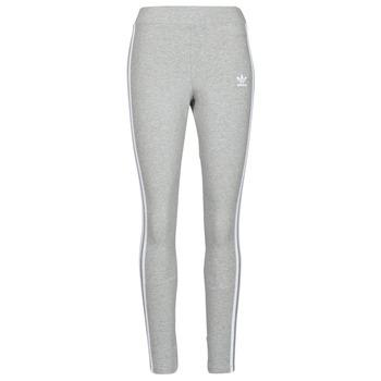 Textil Ženy Legíny adidas Originals 3 STRIPES TIGHT Šedá