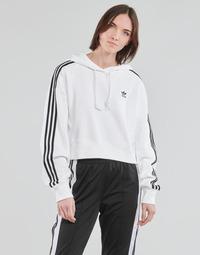Textil Ženy Mikiny adidas Originals SHORT HOODIE Bílá