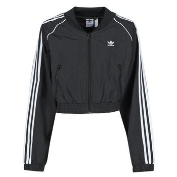 Textil Ženy Teplákové bundy adidas Originals SHORT TRACKTOP Černá