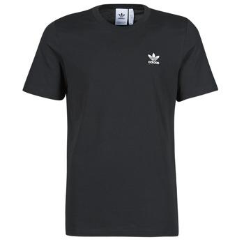 Textil Muži Trička s krátkým rukávem adidas Originals ESSENTIAL TEE Černá
