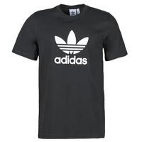 Textil Muži Trička s krátkým rukávem adidas Originals TREFOIL T-SHIRT Černá