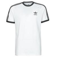 Textil Muži Trička s krátkým rukávem adidas Originals 3-STRIPES TEE Bílá