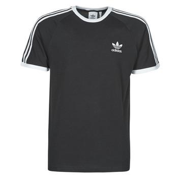 Textil Muži Trička s krátkým rukávem adidas Originals 3-STRIPES TEE Černá