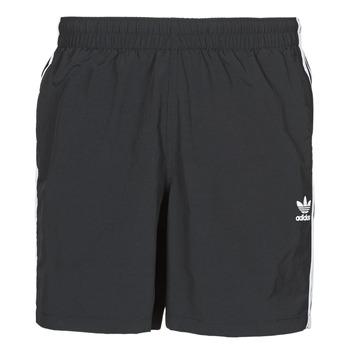 Textil Muži Plavky / Kraťasy adidas Originals 3-STRIPE SWIMS Černá