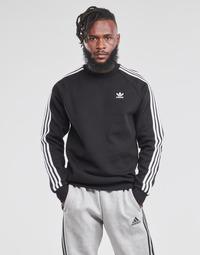 Textil Muži Mikiny adidas Originals 3-STRIPES CREW Černá