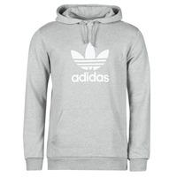 Textil Muži Mikiny adidas Originals TREFOIL HOODIE Šedá